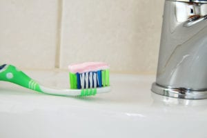 Toothpaste + Toothbrush